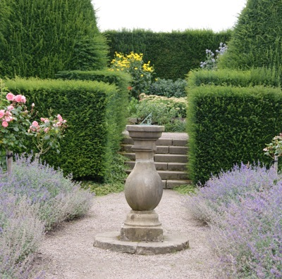 Gardens at Chirk Castle
