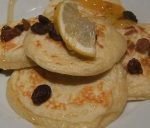 Homemade pikelets